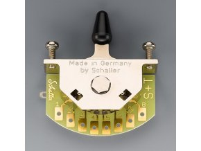 Schaller for Stratocaster (3-way-switch), Version S, Nickel,
