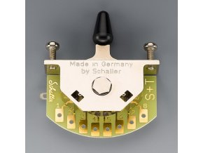 Schaller for Telecaster (5-way-switch), Version T, Nickel,